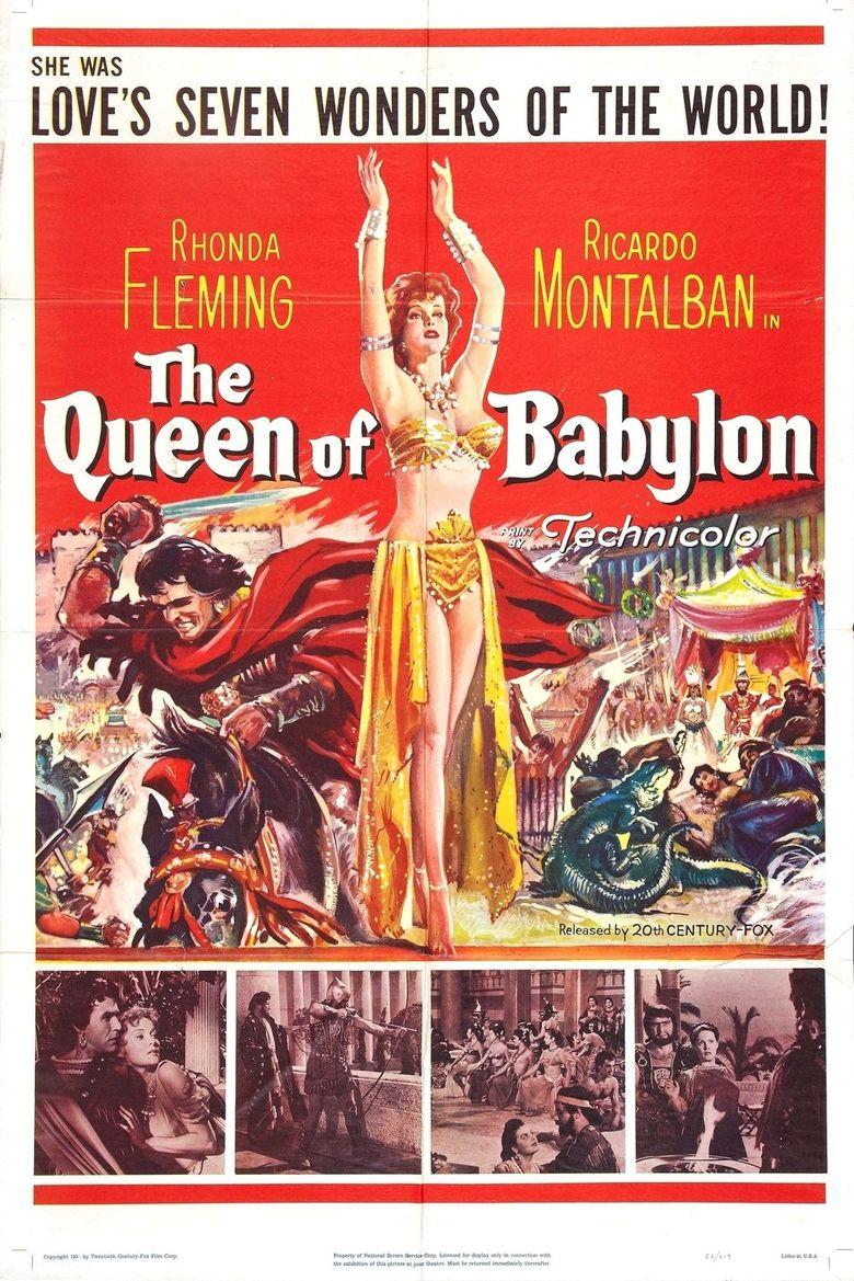 The Queen of Babylon Poster