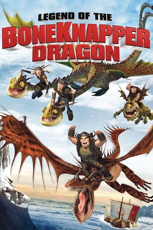 Legend of the BoneKnapper Dragon Poster