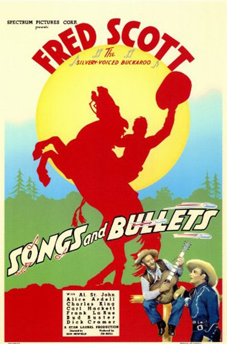 Songs and Bullets Poster