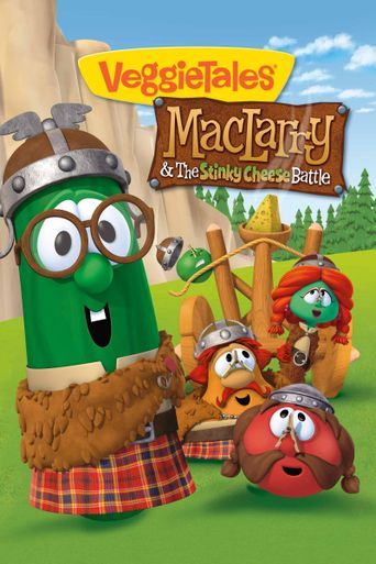 VeggieTales: MacLarry and the Stinky Cheese Battle Poster