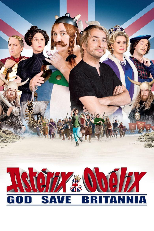 Astérix and Obélix: God Save Britannia Poster