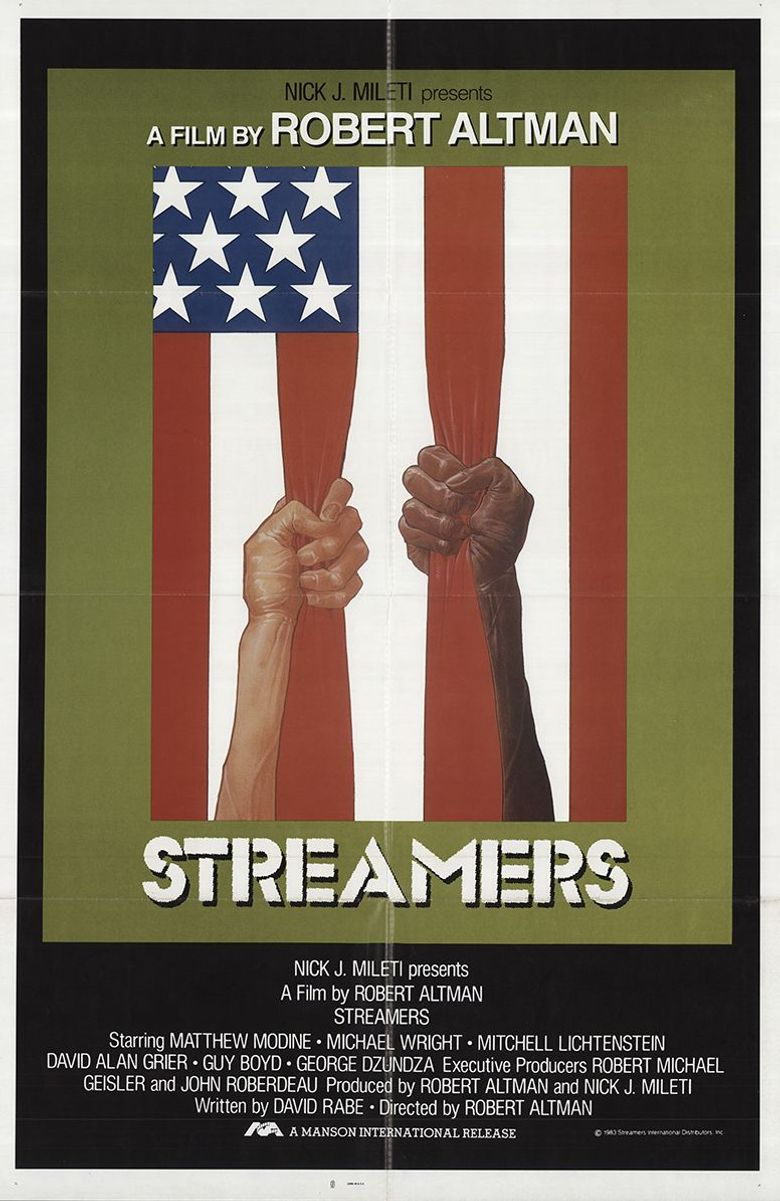 Streamers Poster