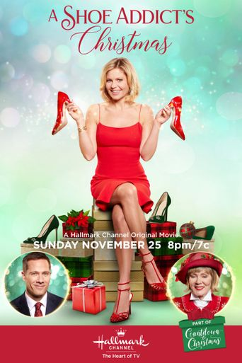 A Shoe Addict's Christmas Poster