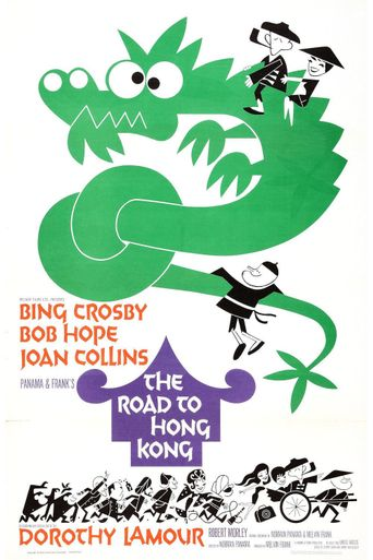 The Road to Hong Kong Poster