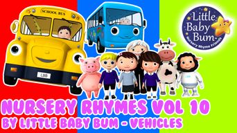 Nursery Rhymes Volume 10 by Little Baby Bum - Vehicles Poster