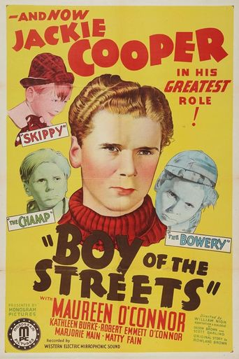 Boy of the Streets Poster