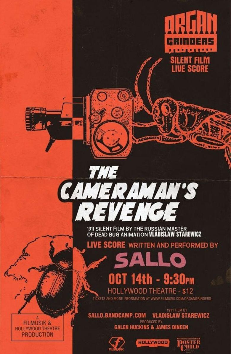 The Cameraman's Revenge Poster