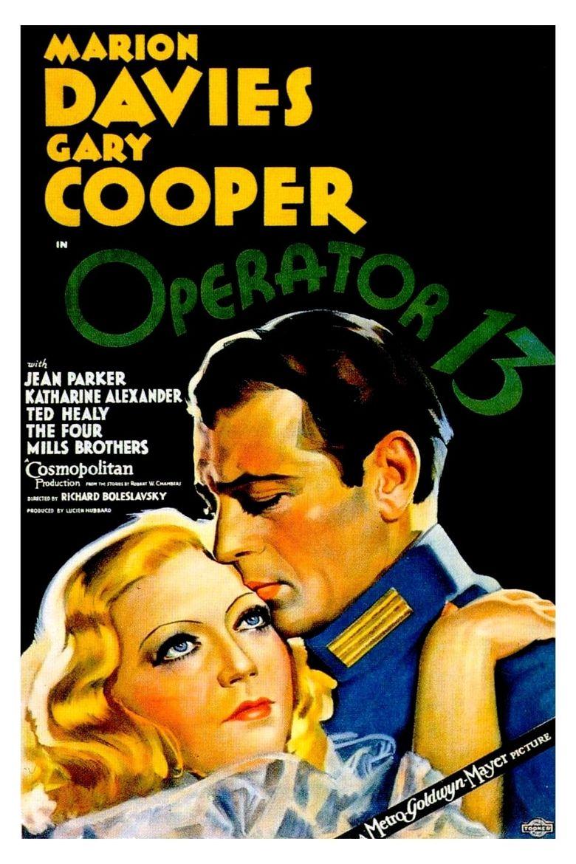 Operator 13 Poster