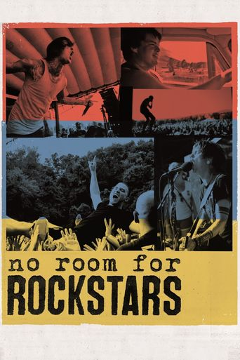 No Room for Rockstars - The Vans Warped Tour Poster