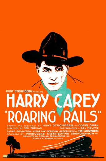 Roaring Rails Poster