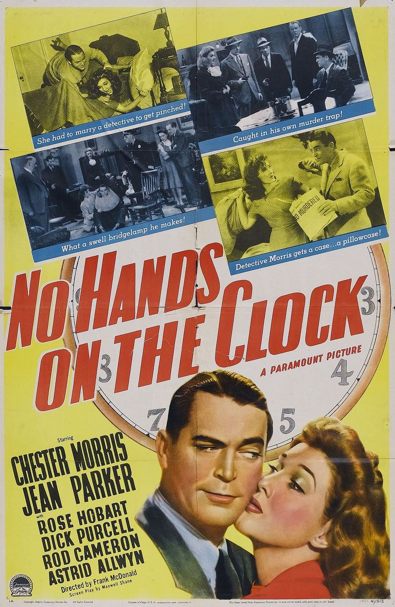 No Hands on the Clock Poster