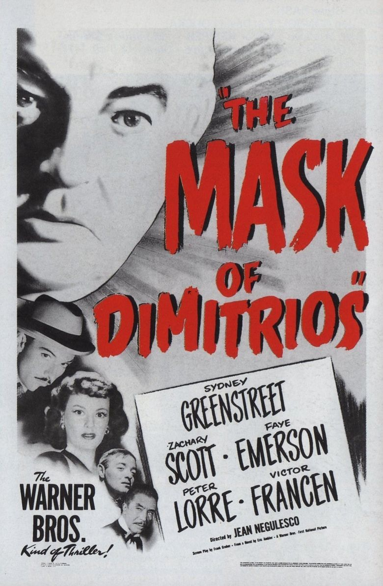 The Mask of Dimitrios Poster