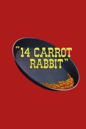 14 Carrot Rabbit Poster