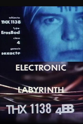 Electronic Labyrinth: THX 1138 4EB Poster