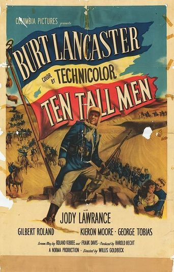 Ten Tall Men Poster
