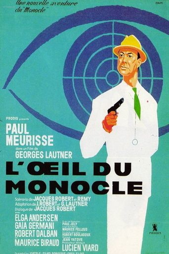 The Eye of the Monocle Poster