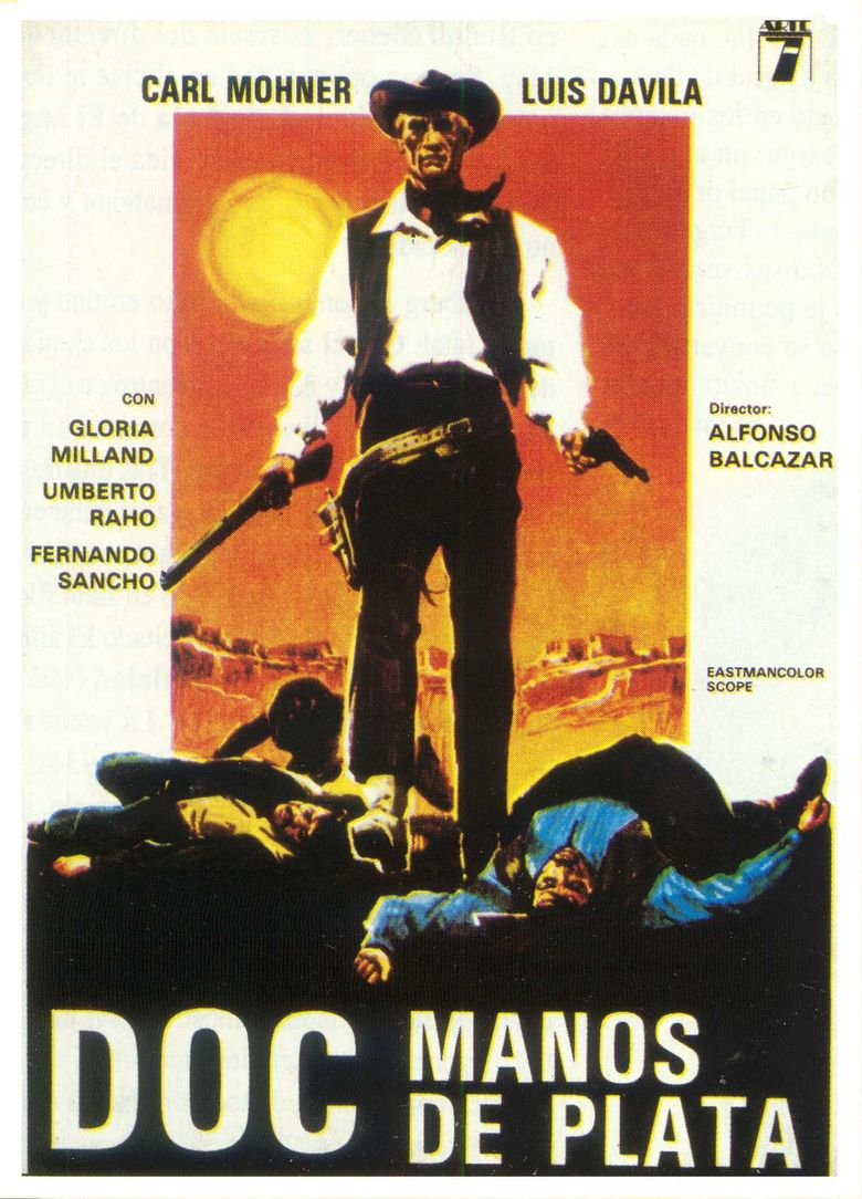 Man with the Golden Pistol Poster