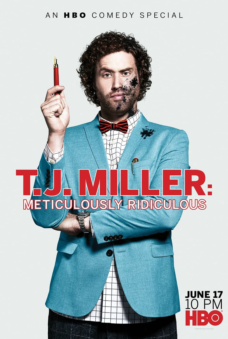 T.J. Miller: Meticulously Ridiculous Poster