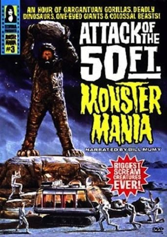 Attack of the 50 Foot Monster Mania Poster