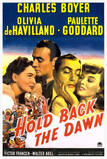 Hold Back the Dawn Poster
