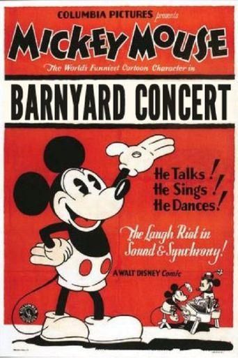 The Barnyard Concert Poster