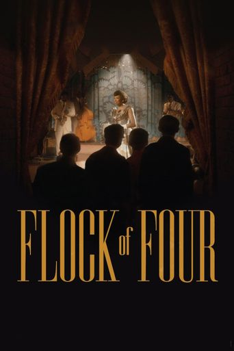 Flock of Four Poster