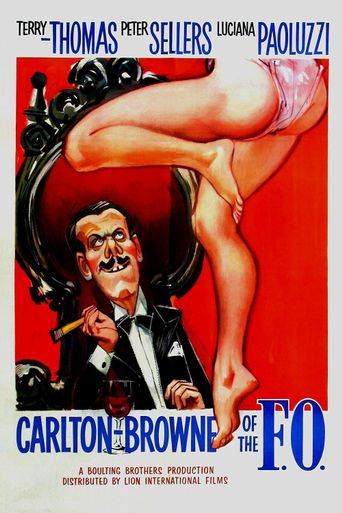 Carlton-Browne of the F.O. Poster