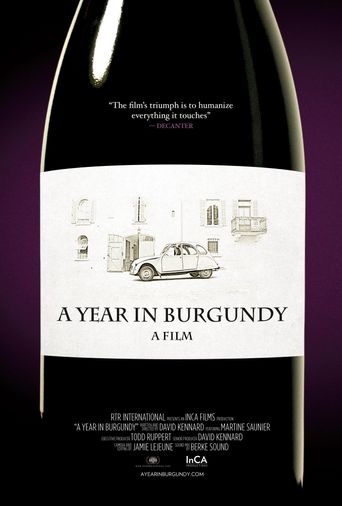 A Year in Burgundy Poster