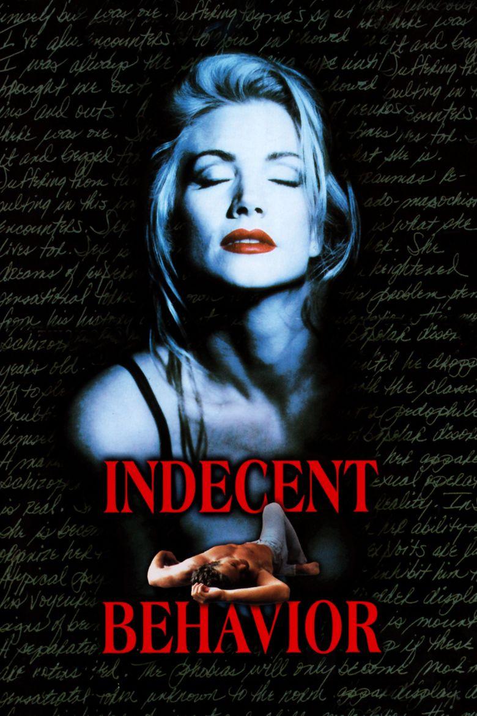 Indecent Behavior Poster
