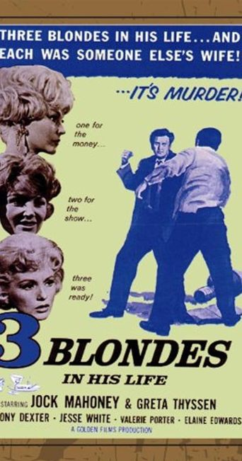 Three Blondes In His Life Poster