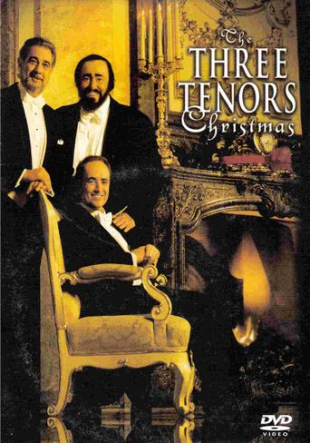The Three Tenors Christmas Poster