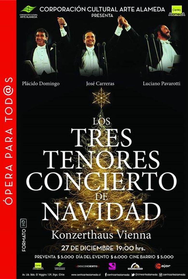 The Three Tenors Christmas Poster