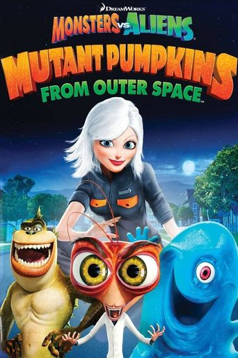 Mutant Pumpkins from Outer Space Poster