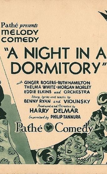 A Night in a Dormitory Poster