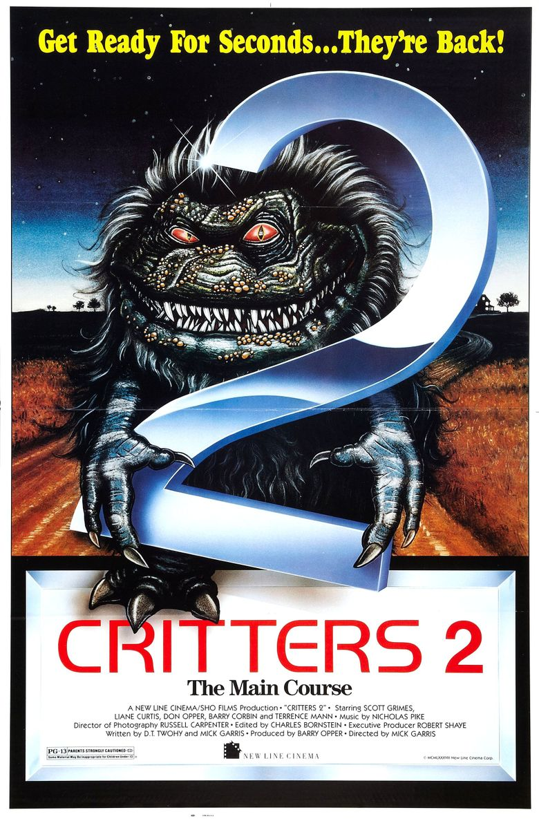 Critters 2 Poster
