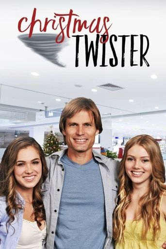 Christmas Twister Poster