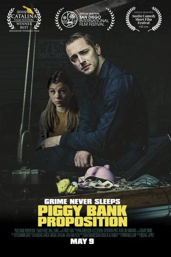 Piggy Bank Proposition Poster