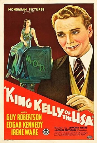 King Kelly of the USA Poster