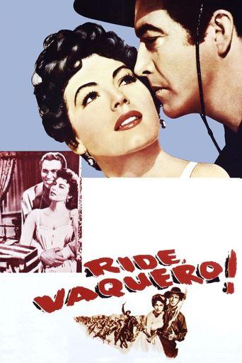 Ride, Vaquero! Poster