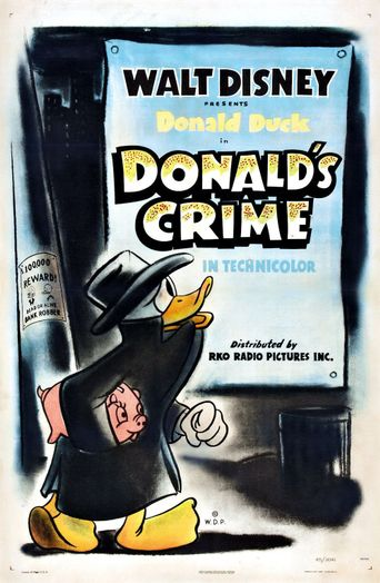 Donald's Crime Poster