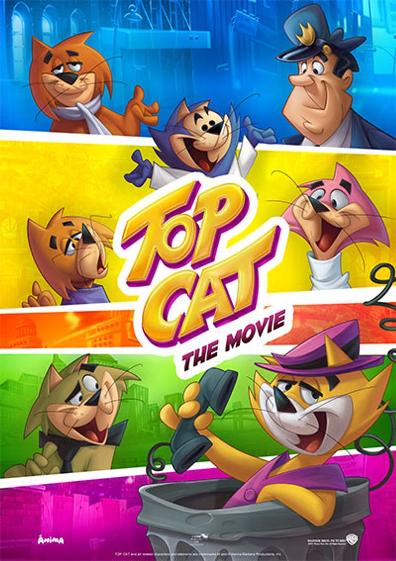Top Cat: The Movie Poster