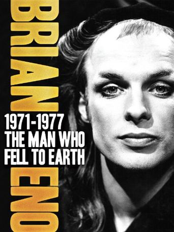 Brian Eno 1971–1977: The Man Who Fell To Earth Poster
