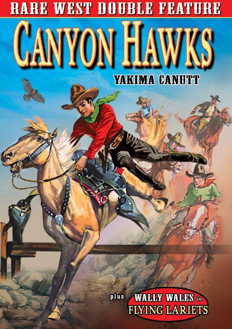 Canyon Hawks Poster