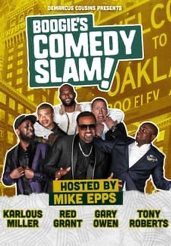 DeMarcus Cousins Presents Boogie's Comedy Slam Poster