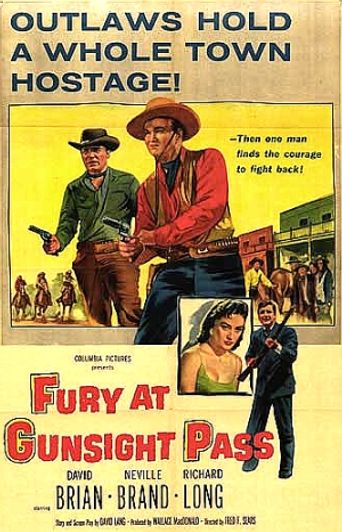 Fury at Gunsight Pass Poster