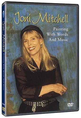 Joni Mitchell - Painting With Words & Music Poster