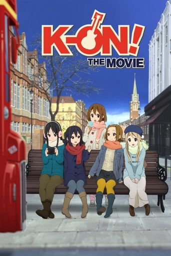 K-ON! The Movie Poster
