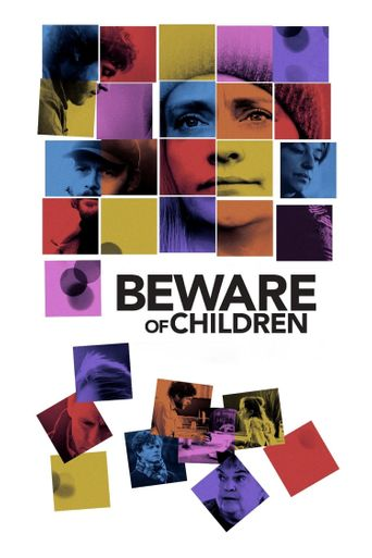Beware of Children Poster
