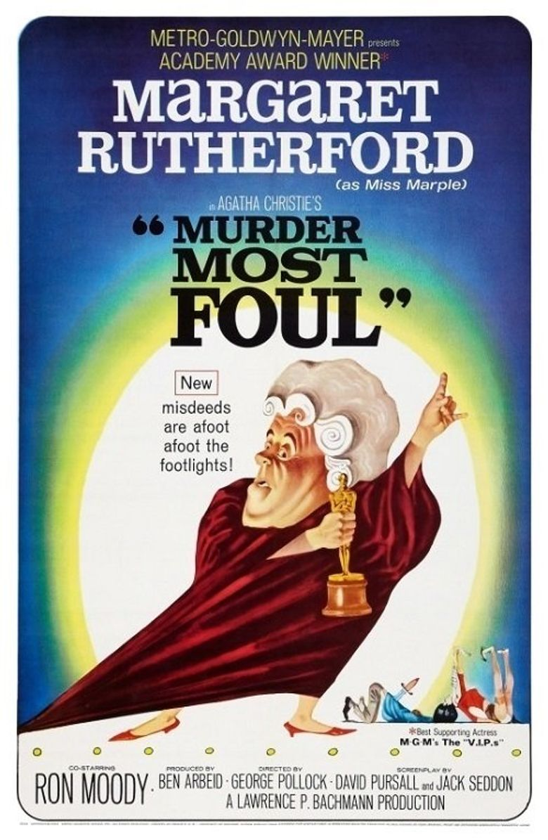 Murder Most Foul Poster