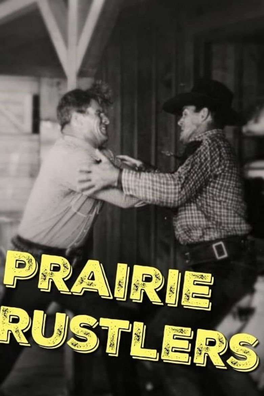 Prairie Rustlers Poster